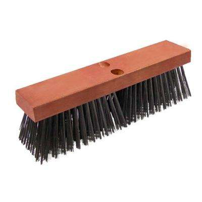 16 in. x 3-1/2 in. Steel Wire Asphalt Broom