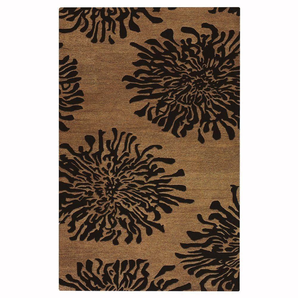 Home Decorators Collection Brunswick Cocoa 2 ft. 6 in. x 4 ft. 6 in. Accent Rug