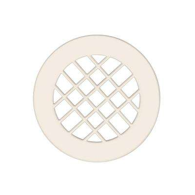 Fit-Flo Shower Floor Strainer in Bisque