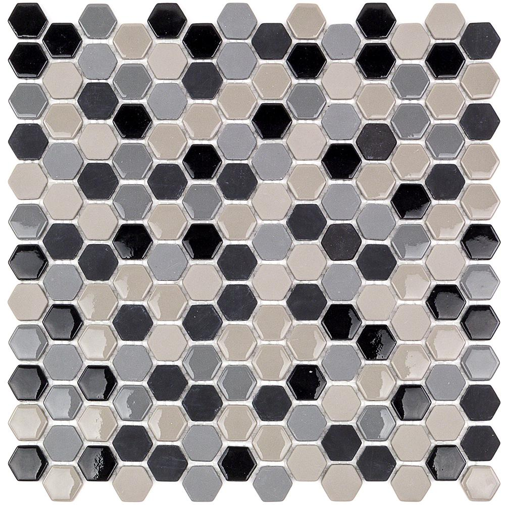 Ivy Hill Tile Recoup Hexagon Steel 11.5 In. X 12 In. X 6