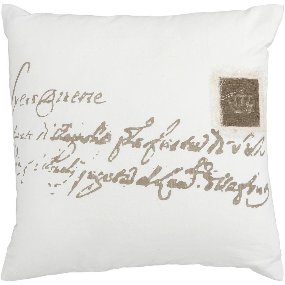 Artistic Weavers Crown 22 in. x 22 in. Decorative Down Pillow-DISCONTINUED