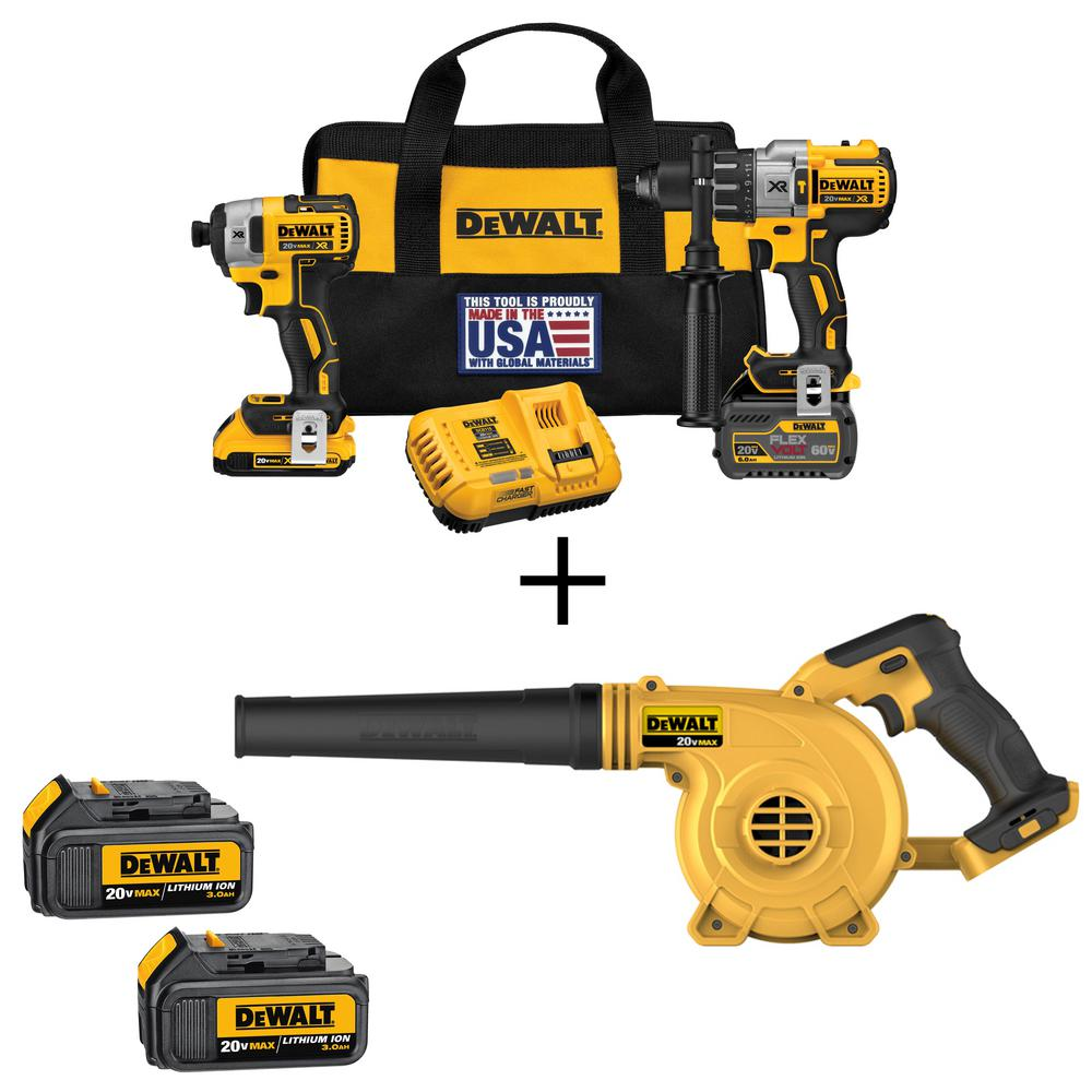 The DEWALT DCKC2 Combo Kit is versatile enough to handle most drilling and driving applications. This kit includes a DEWALT DCD 1/2 in. drill/driver and a DCF 1/4 in. impact giveback.cf: $