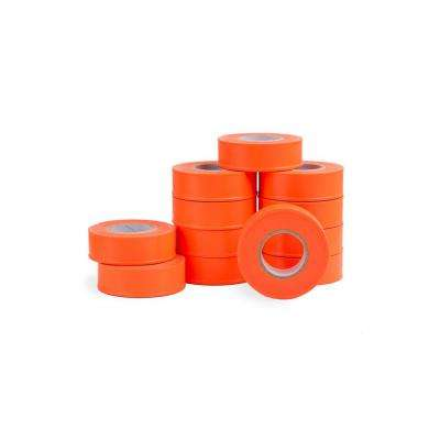 1 in. x 150 ft. Fluorescent Orange Flagging Tape (12-Pack)