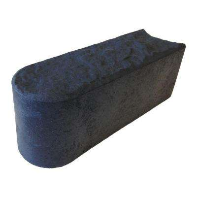 12 in. x 4 in. Slate Stomp Rubber Edge (6-Pack)