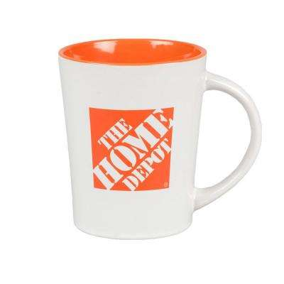 13 oz. Ceramic Home Depot Mug in White