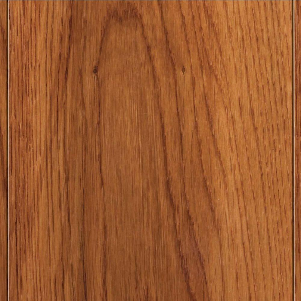Home Legend High Gloss Oak Gunstock 1/2 in. T x 4-3/4 in. W x 47-1/4 in. Length Engineered Hardwood Flooring (24.94 sq. ft. / case)