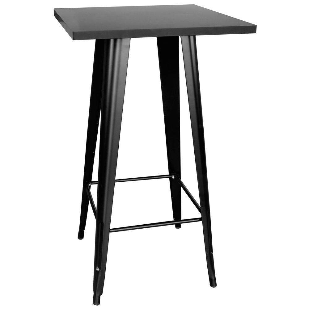 Round Adjule Height Bar Table