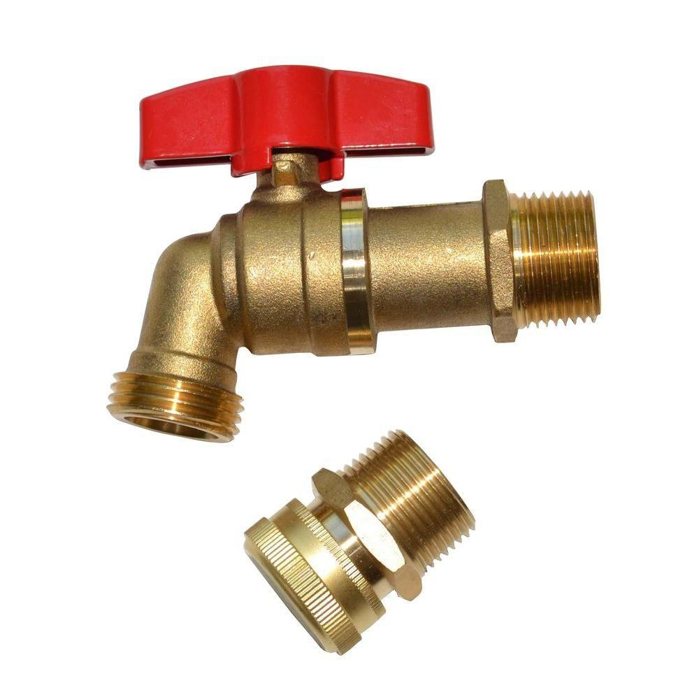 Brass Spigot and Drain Upgrade Kit