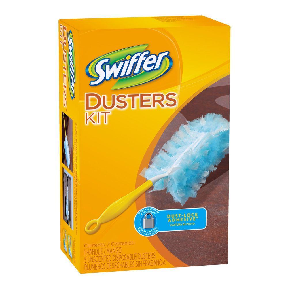 Swiffer Microfiber Dusters Starter Kit 003700011804 The