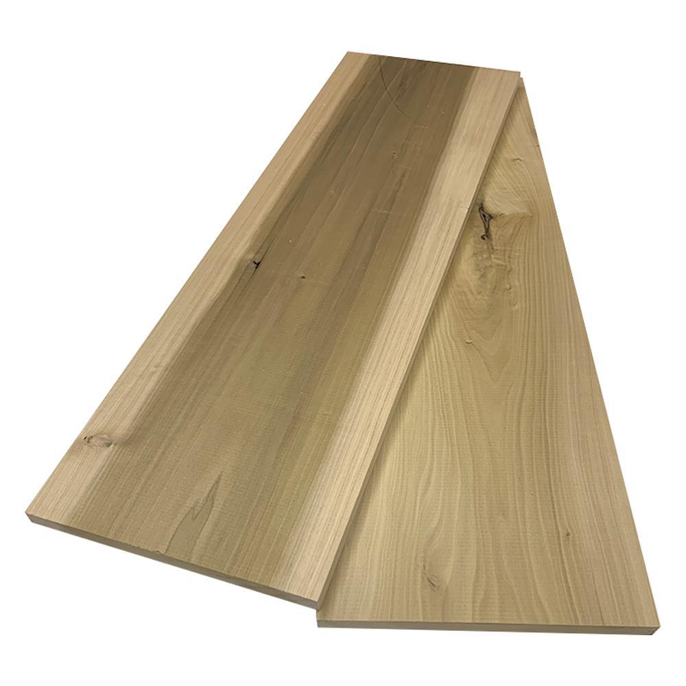 1 in. x 12 in. x 8 ft. Poplar S4S Board (2-Pack)