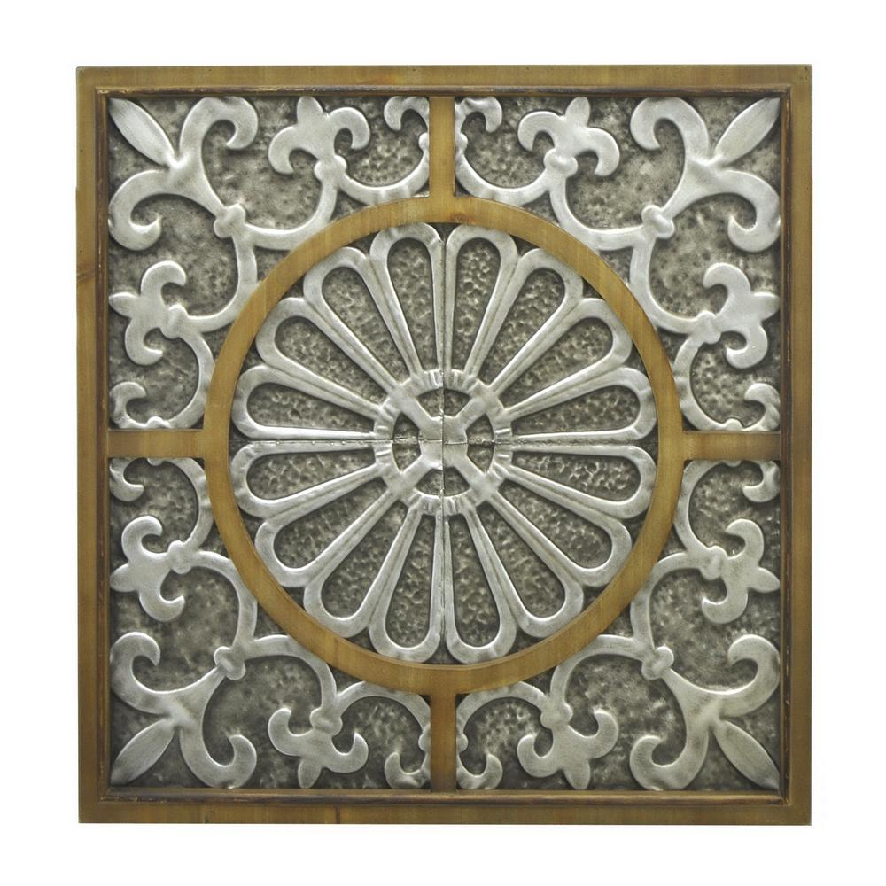 Three hands brown metal wall decor the home depot