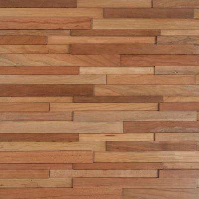 Deco Strips Koa 3/8 in. Thick x 7-3/4 in. Wide x 47-1/4 in. Length Engineered Hardwood Wall Strips (10.334 sq. ft./case)