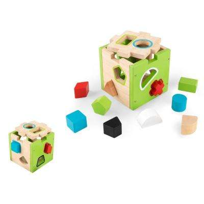 Shape Sorting Cube Playset