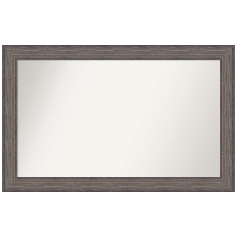 Amanti Art Choose Your Custom Size 46.25 in. x 29.25 in. Country Barnwood Decorative Wall Mirror was $498.9 now $259.92 (48.0% off)