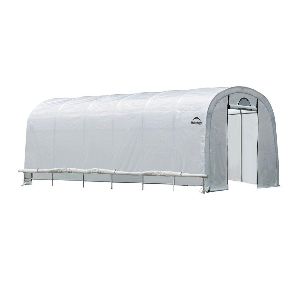 ShelterLogic GrowIt 24 ft. x 12 ft. x 8 ft. Heavy Duty Wa...