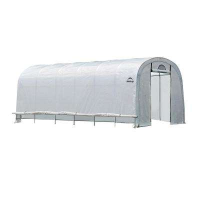 GrowIt 24 ft. x 12 ft. x 8 ft. Heavy Duty Walk-Thru Greenhouse