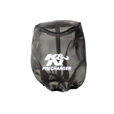Precharger Tapered Air Filter Wrap Black 6in Height / 6in Diameter