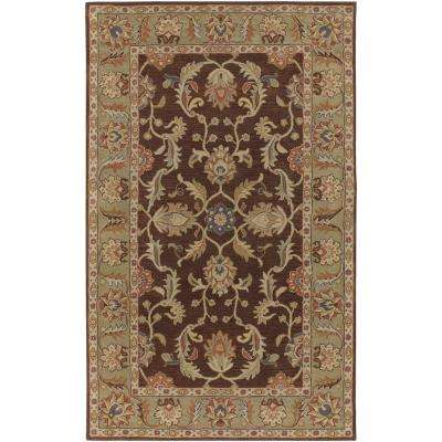 Chenni Chocolate 12 ft. x 15 ft. Indoor Area Rug