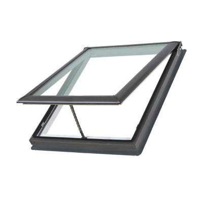 30-1/16 in. x 37-7/8 in. Fresh Air Venting Deck-Mount Skylight with Laminated Low-E3 Glass