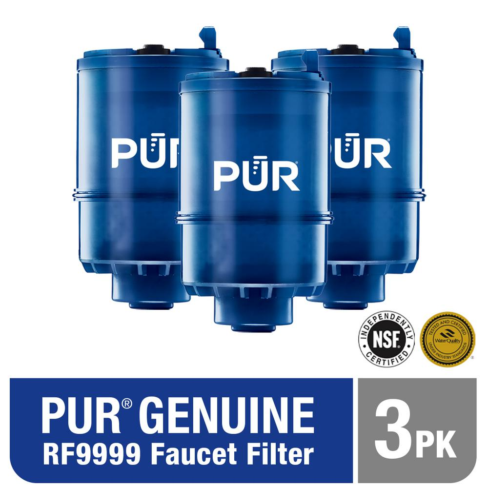 PUR Faucet Mount MineralClear Replacement Filter (3-Pack)
