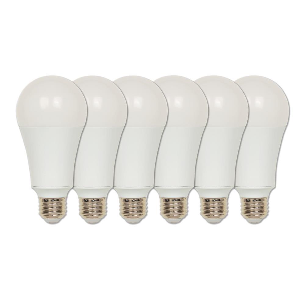 150-Watt Equivalent Omni A21 ENERGY STAR Soft White LED Light Bulb Daylight (6-Pack)