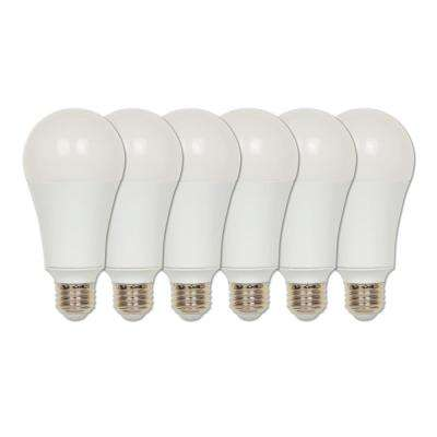 150-Watt Equivalent Omni A21 ENERGY STAR Soft White LED Light Bulb Daylight (6-Pack)