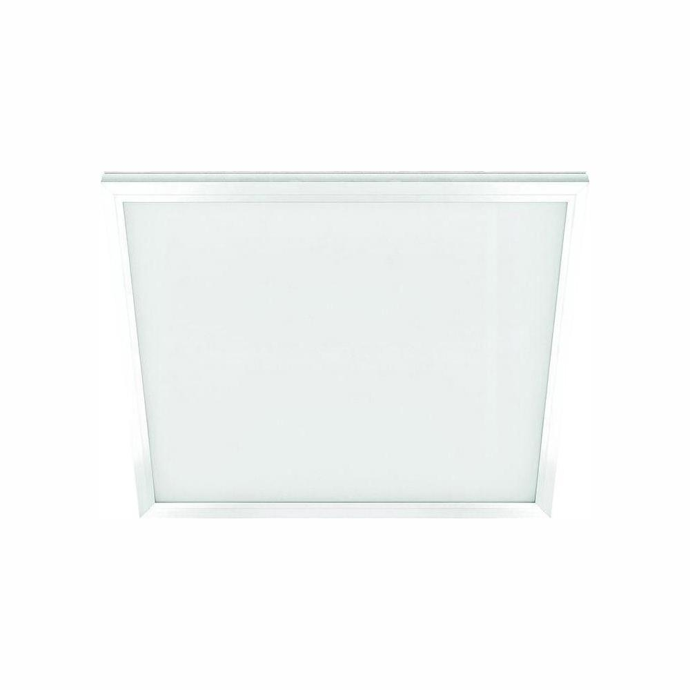 Commercial Electric 1 Ft X 1 Ft 10 Watt White Integrated