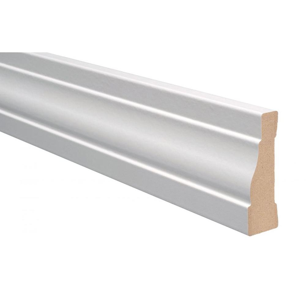 Marlite Supreme Wainscot 8 Linear ft. MDF Paintable White Casing