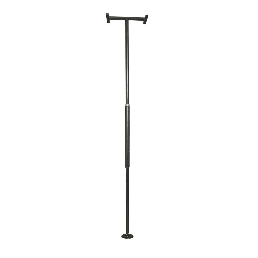 Stander Security Pole Adjustable Floor to Ceiling Grab Bar - Black