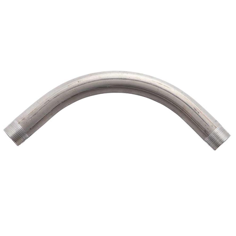 """1 pc Aluminum Rigid Conduit Elbow 45 Degree 1/"""""""
