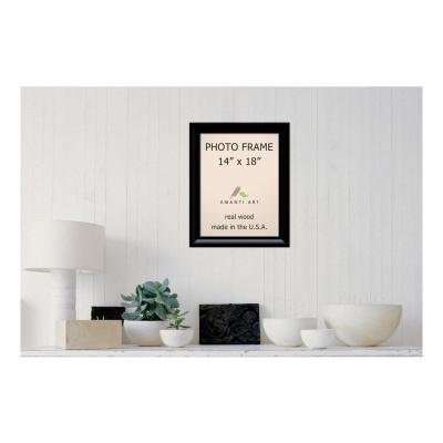 Steinway 14 in. x 18 in. Black Picture Frame