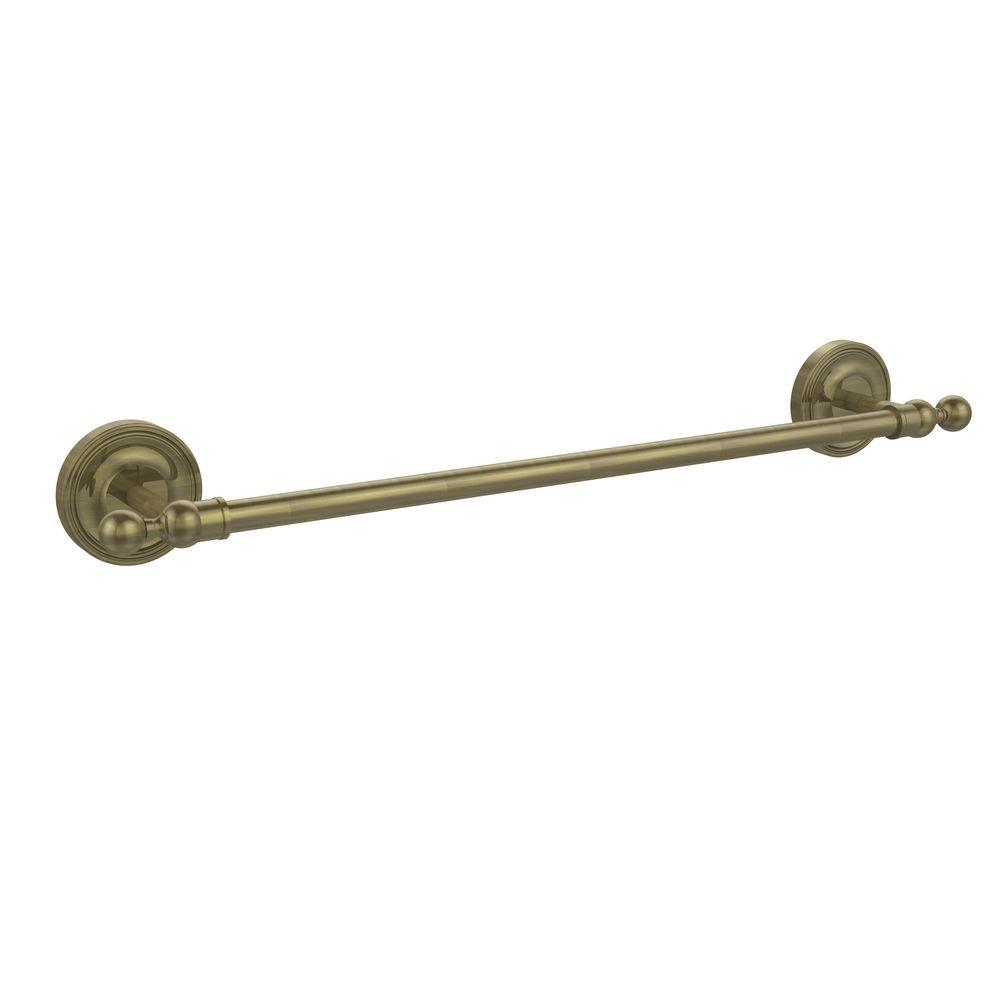 Regal Collection 30 in. Towel Bar in Antique Brass
