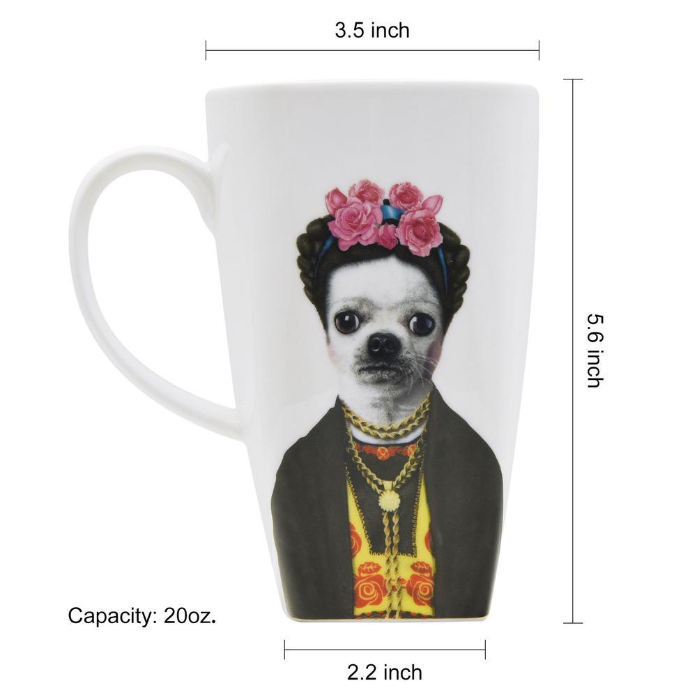 Chihuahua Heritage Fine China Dog Mug