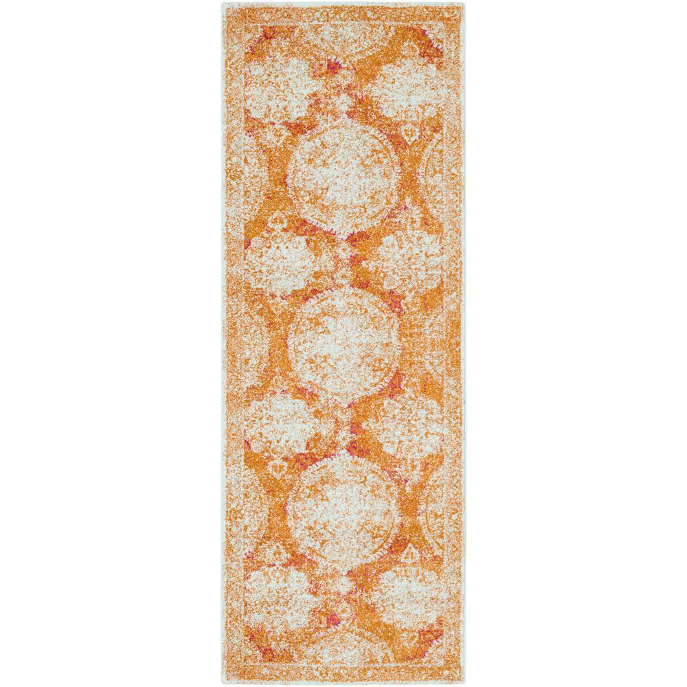 Artistic Weavers Agnetha Burnt Orange 3 Ft. X 7 Ft. Runner