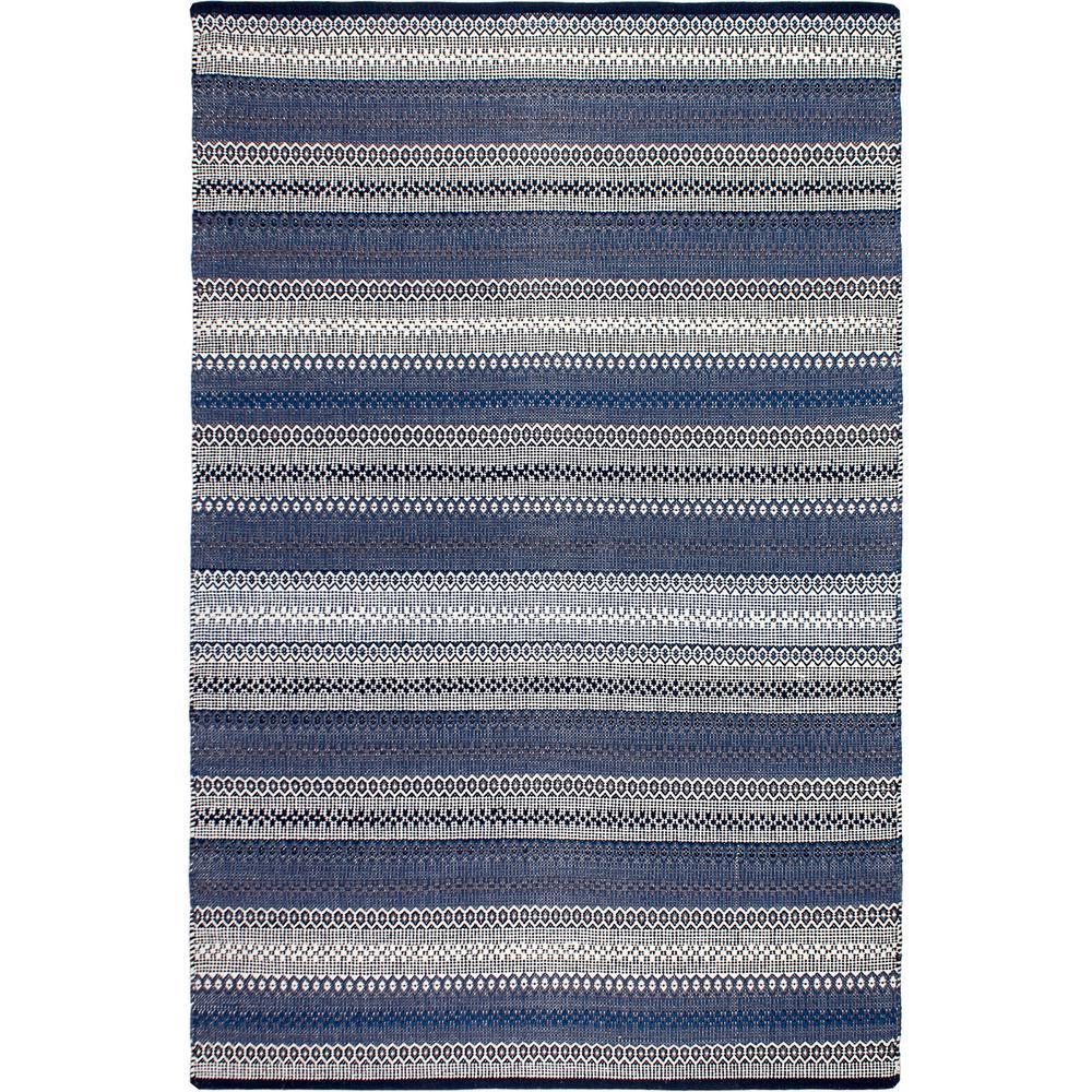Ethos - Blue (5' x 8') - Cotton