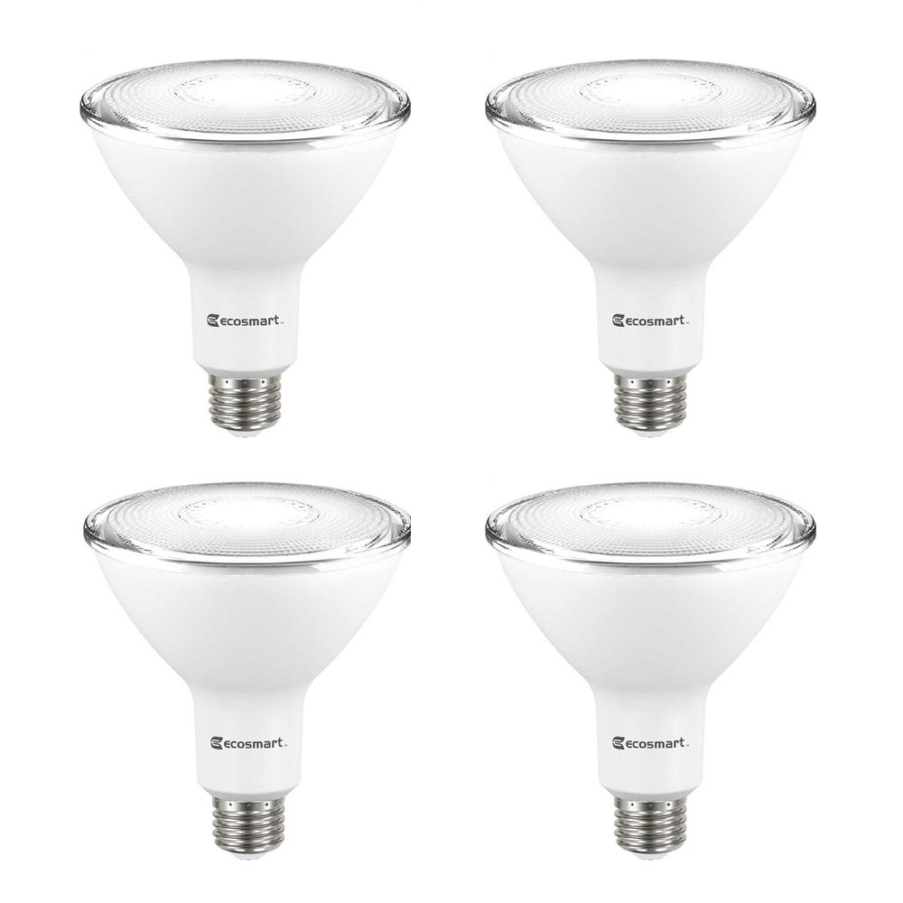 90-Watt Equivalent PAR38 Non-Dimmable Flood LED Light Bulb Daylight (4-Pack)