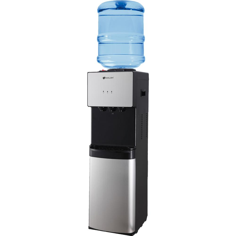 Avalon Top Loading Water Cooler Dispenser in Stainless Steel