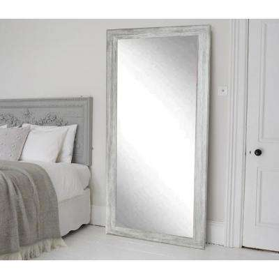 Weathered Gray Full Length Floor Wall Mirror
