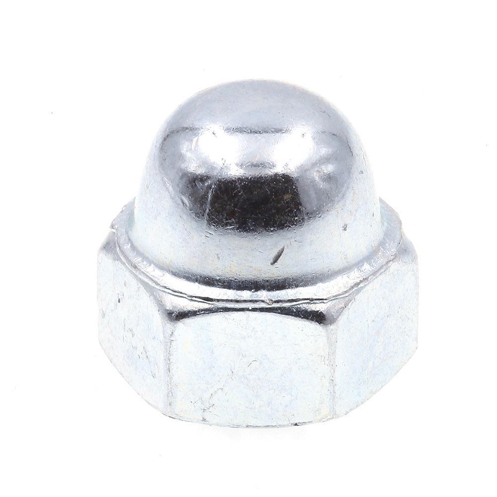 Zinc Plated Steel Prime-Line 9077538 Acorn Cap Nuts 3//8 in.-16 25-Pack