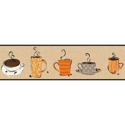 Bistro 750 Coffee Mug Wallpaper Border