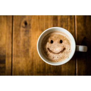Coffee Smile Foam Placemats (Set of 4) by