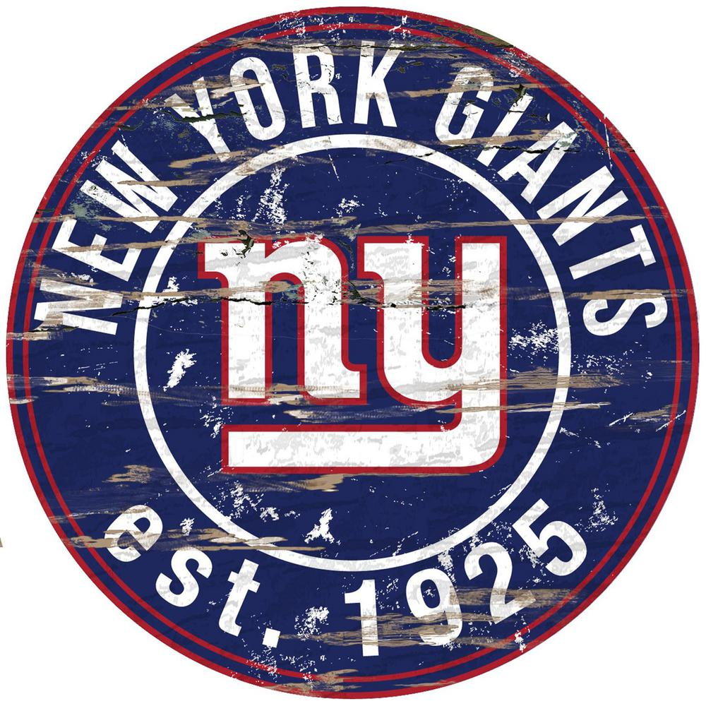 It's just a photo of Simplicity New York Giants Logos