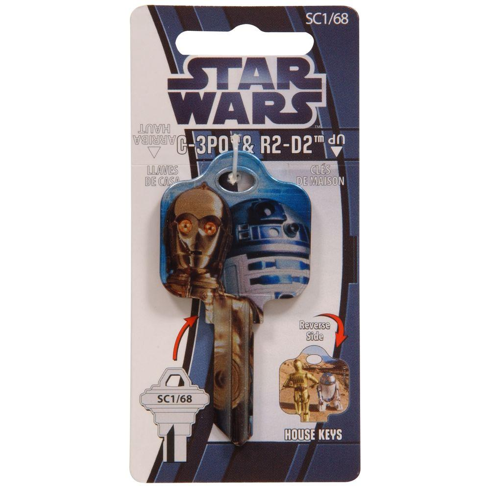 The Hillman Group #68 Star Wars Key-94640 - The Home Depot
