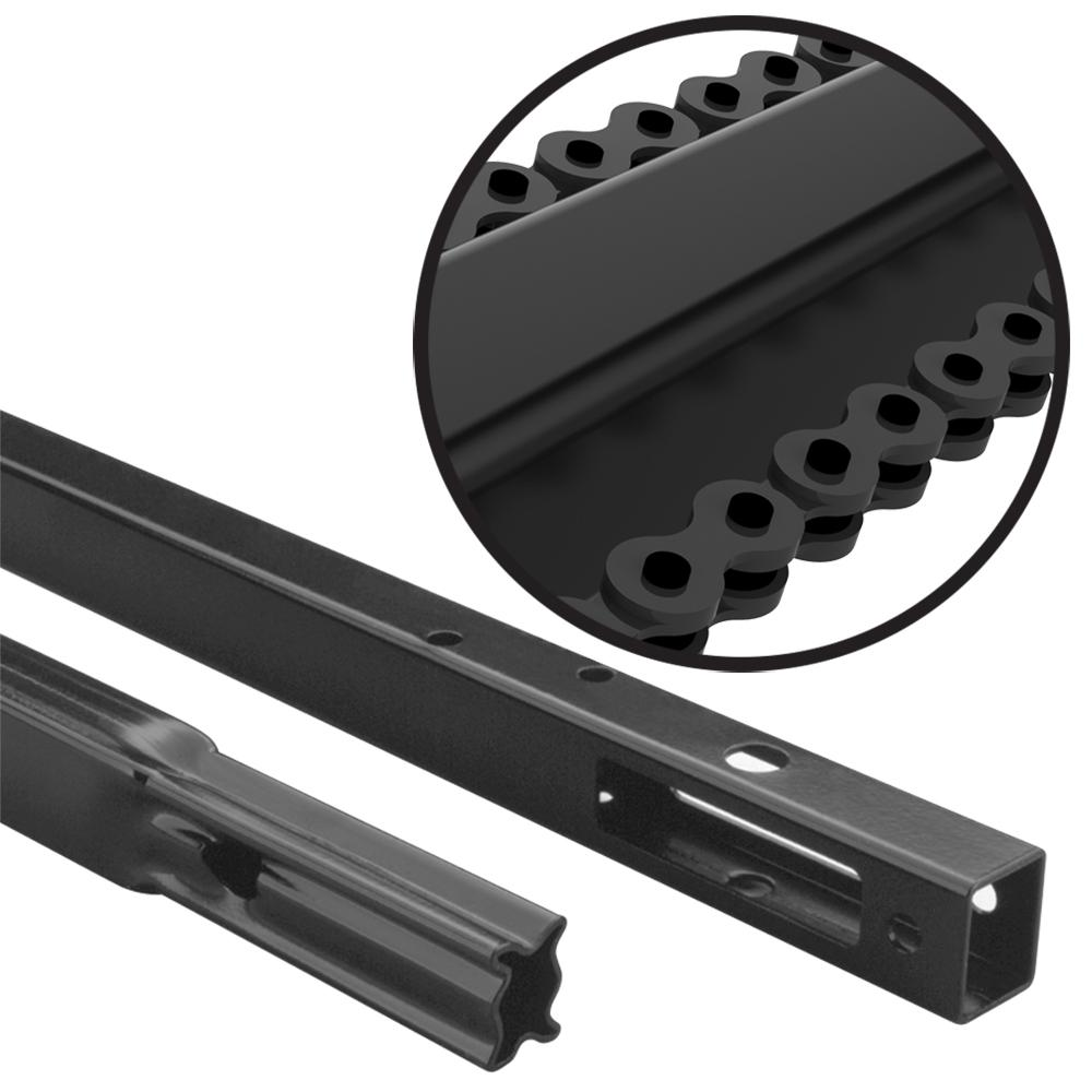 Heavy Duty Chain Drive Rail Extension Kit for 8 ft. Garage