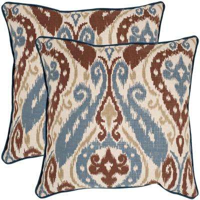 Charlie Printed Patterns Pillow (2-Pack)