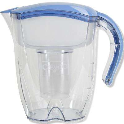 12-Cup Mineral Rich Alkaline Pitcher in Blue