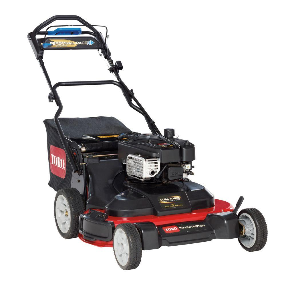 Toro TimeMaster 30 in. Personal Pace Variable Speed Walk Behind Gas Self Propelled Mower with Briggs & Stratton Engine