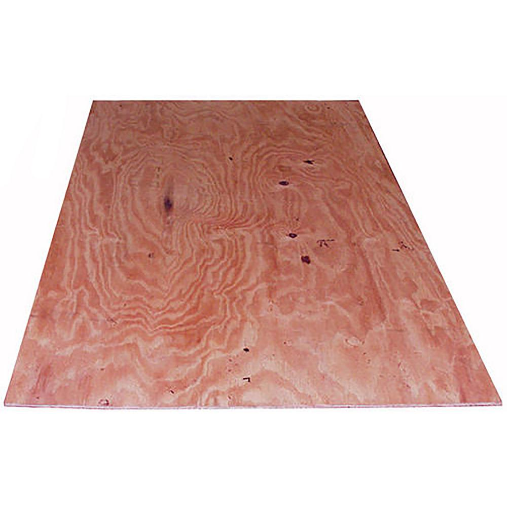 23 32 In X 4 Ft X 8 Ft Cdx Fir Fire Treated Plywood 0395034 The Home Depot