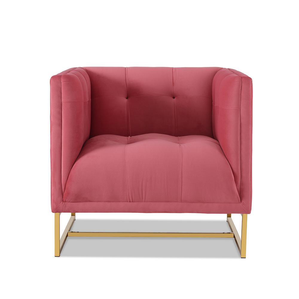 Royce Garnet Rose Accent Chair
