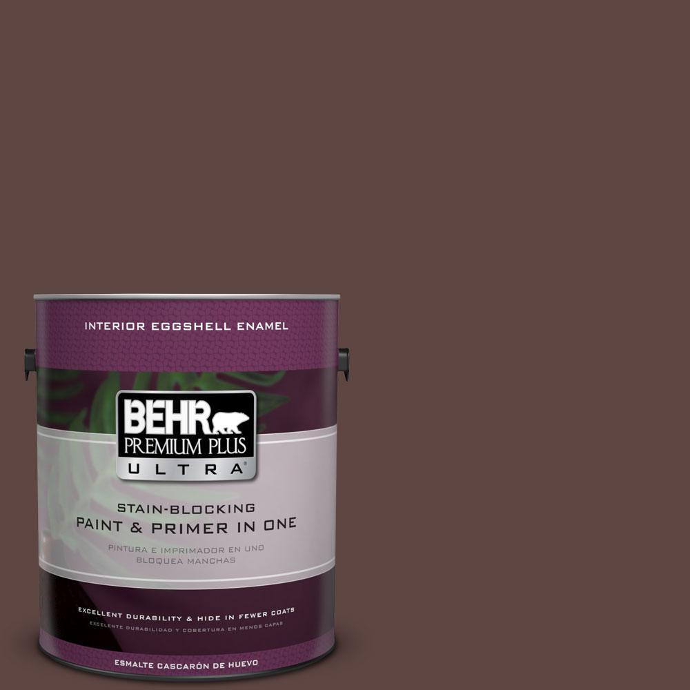1 gal. #730B-7 English Manor Eggshell Enamel Interior Paint and Primer